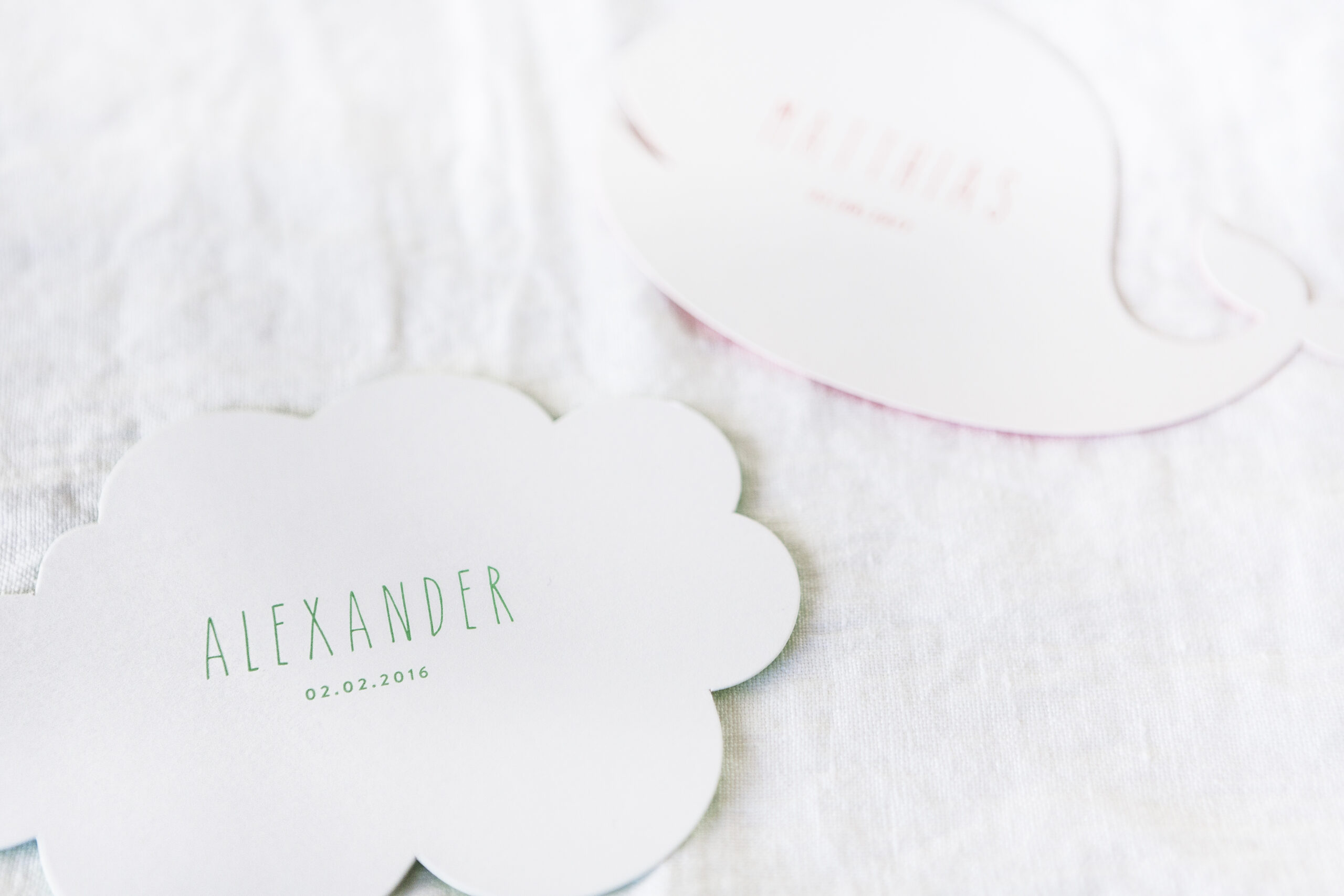 Geboortekaartje Alexander