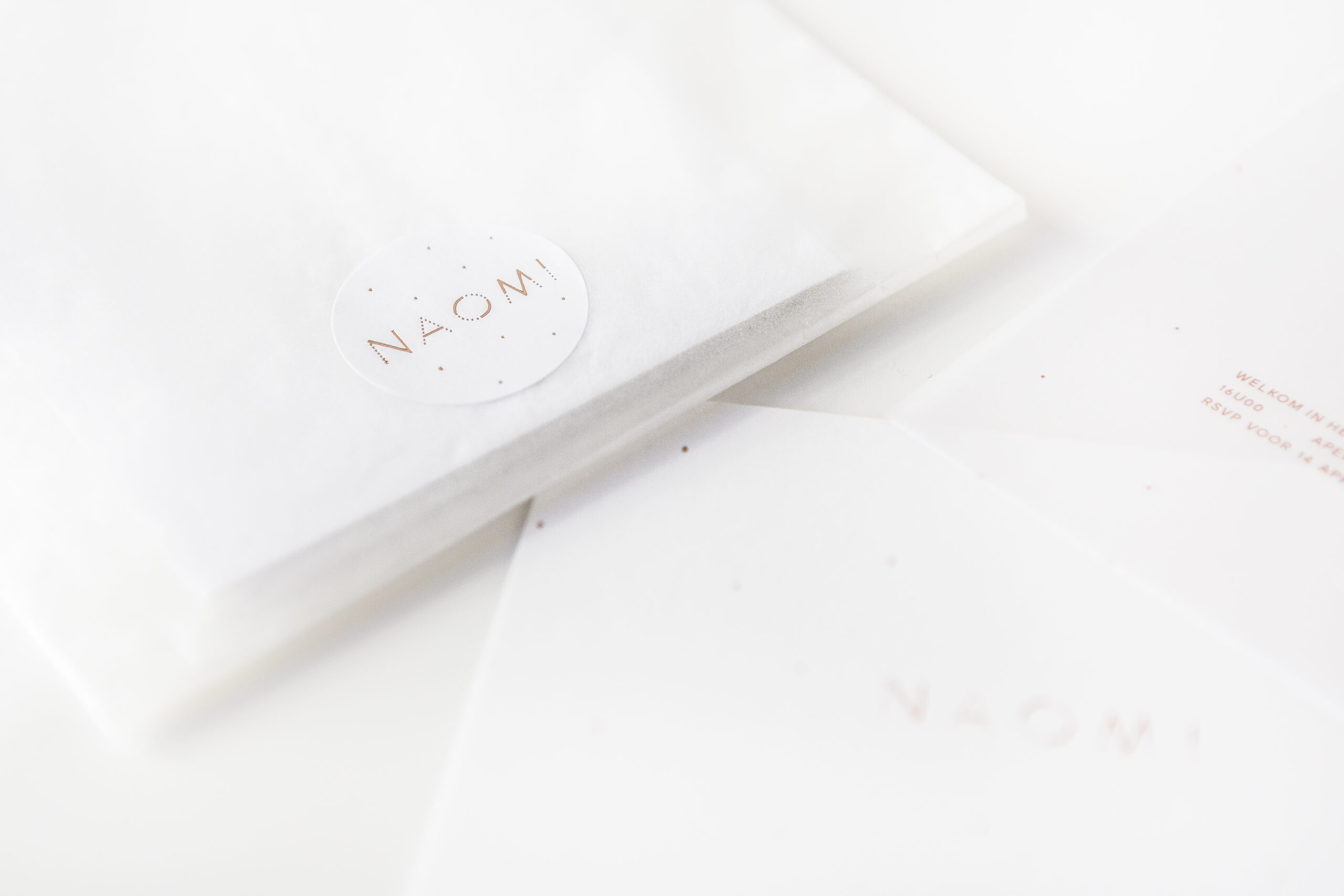 Geboortekaartje Naomi