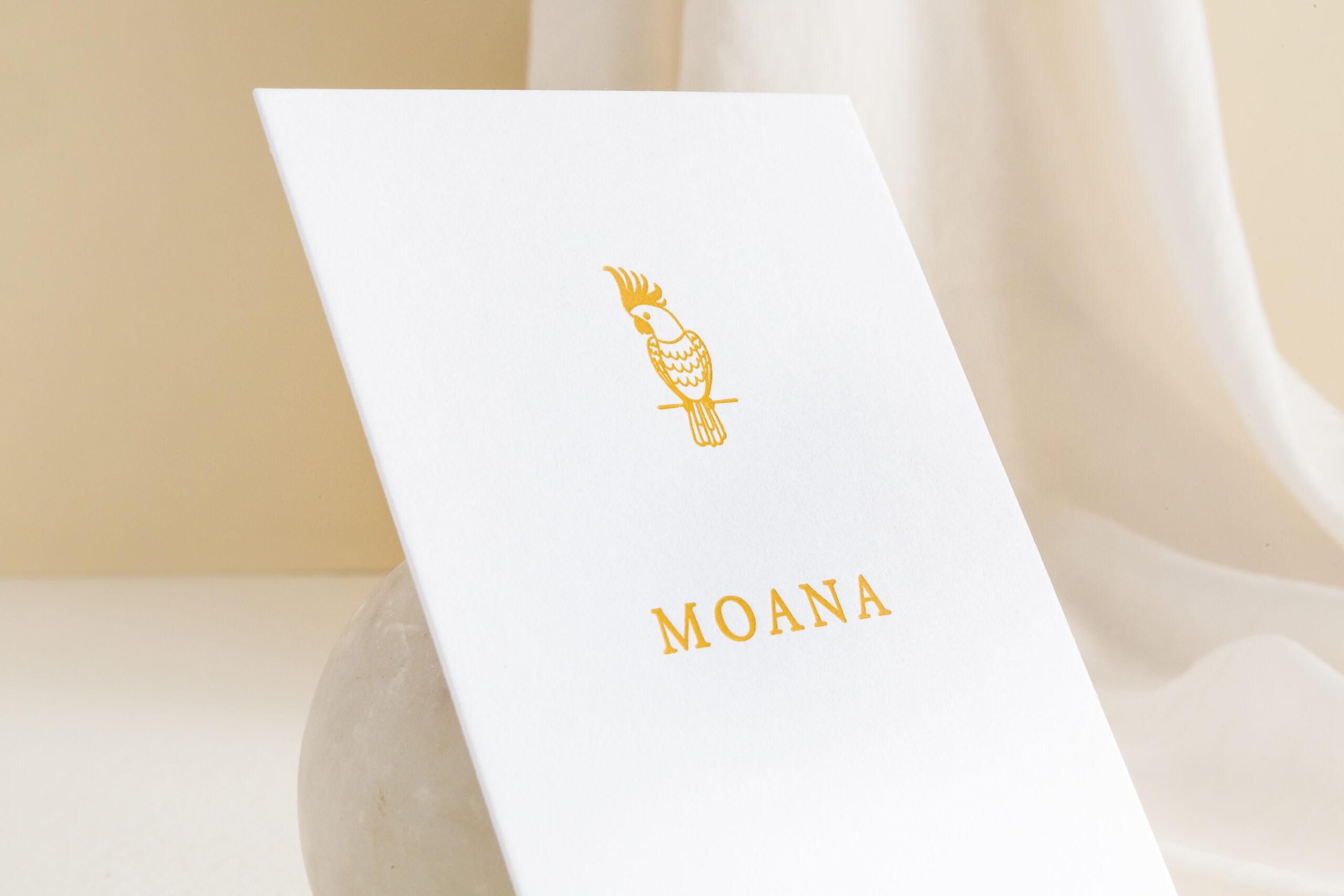 Geboortekaartje Moana