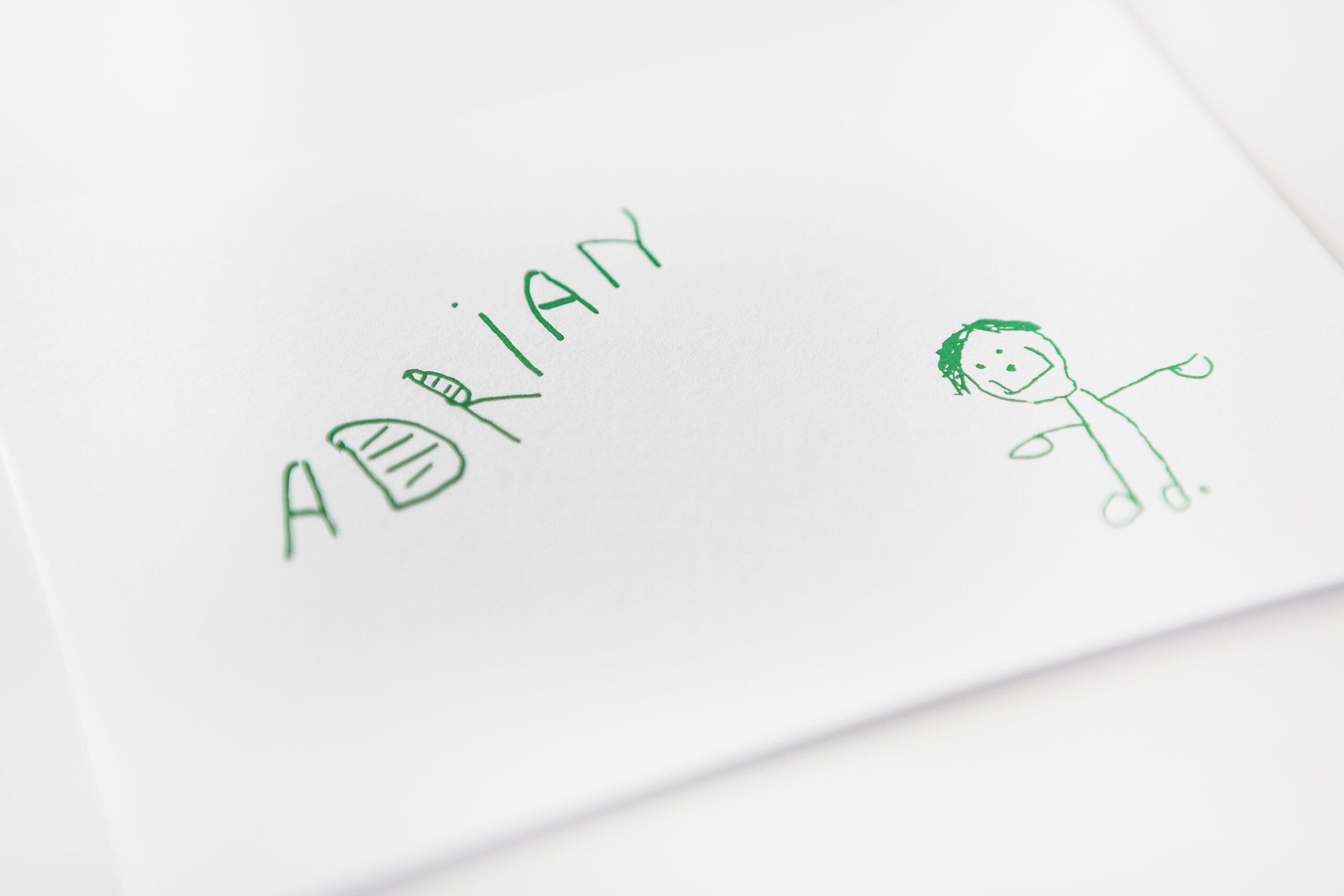 Geboortekaartje Adrian